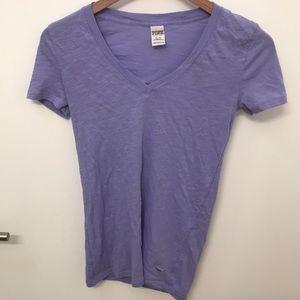 Victoria's Secret PINK purple workout shirt